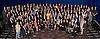 85TH OSCARS NOMINEES.attend the  Academy of Motion Picture Arts and Sciences' Oscar® Nominees Luncheon at the Beverly Hilton, Beverly Hills_February 4, 2013..Picture Shows: .Row 1 (L-R):  Sam Fell, Rich Moore, Dan Hennah, Seamus MacGarvey, Sari Gilman, Paco Delgado, Jackie Weaver, Donna Gigliotti, Ethan Van der Ryn, Pilar Savone, Quvenzhane Wallis, Bradley Cooper, Naomi Watts, Joanna Johnston, Paul N.J. Ottoson, Janusz Kaminski, David Womark, Jedd Wider, Karen Baker Landers, Malik Bendjelloul, David O. Russell Row 2:  Gil Netter, Michael Kahn, David Gopman, Ronald  Judkins, Philip Brennan, Chris Butler, David Clayton, Debra Hayward, Tim Squyres, Brenda Chapman, J Ralph, DM Hemphill, PES, Guillaume Rocheron, John Alpert, Ron Bartlet, Fodhla Cronin O'Reilly, Jim Erickson, Sam French, Michael Dawson Row 3:  Nikolaj Arcel, Megan Ellison, Claudio Miranda, Scott Millan, Cedric Nicolas-Troyan, Tammi Lane, Sean Fine, Rick Carter, Dan Janvey, Erik Aadahl, Dan Sudick, Andy Nelson, Hugh Jackman, Jessica Chastain, Roman Coppola, Drew Kunin, Robin Honan, Mino Jarjoura, David Silverman, Tom Von Avermaet, Mychael Danna, Mark Paterson, David Magee, Reginald Hudlin, Helen Hunt, Steven Spielberg. Row 4:  Joachim Ronning, Howard Gertler, Walter Murphy, Yan England, Eric Saindon, Ariel Nasr, Martin Hill, Andrea Nix Fine, Ellen De Waele, Benh Zeitlin, Jeff White, Josh Penn, David France, Mark Boal, Espen Sanberg, Timothy Reckart, Richard Stammers, John Kahrs, Wylie Stateman, Cori Shepherd Stern, Mink Yu Lee, Matthew O'Neil, Janek Sirrs, Philip Stockton, Alexander Desplat, Krispin Struthers, Kathryn Bigelow, Robert De Niro. Row 5:  Peter Montagna, Eugene Gearty, John Reitz, Dylan Tichenor, Eric Fellner, Jonathan Gordon, Kirby Dicky, Tim Burton, Amy Adams, Per Halberg, Joaquin Phoenix, Sally Field, Lucy Alibar, Eve Stewart, Guy Williams, Anne Hanthaway, Neil Corbould, Mark Andrews, Michael Gottwald, Shawn Christensen, Donald Elliot, Jose Antonio Garcia, Ra Vincent, Brian Buckley, Guy Davi