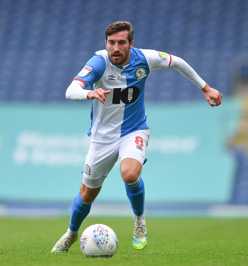 Blackburn Rovers' Joe Rothwell<br /> <br /> Photographer Dave Howarth/CameraSport<br /> <br /> The EFL Sky Bet Championship - Blackburn Rovers v Reading - Saturday 18th July 2020 - Ewood Park - Blackburn<br /> <br /> World Copyright © 2020 CameraSport. All rights reserved. 43 Linden Ave. Countesthorpe. Leicester. England. LE8 5PG - Tel: +44 (0) 116 277 4147 - admin@camerasport.com - www.camerasport.com