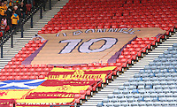 The Motherwell banner in memory of Phil O'Donnell