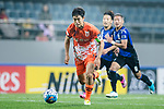 Jeju United Midfielder Kwon Soonhyung in action during the AFC Champions League 2017 Group H match Between Jeju United FC (KOR) vs Gamba Osaka (JPN) at the Jeju World Cup Stadium on 09 May 2017 in Jeju, South Korea. Photo by Marcio Rodrigo Machado / Power Sport Images