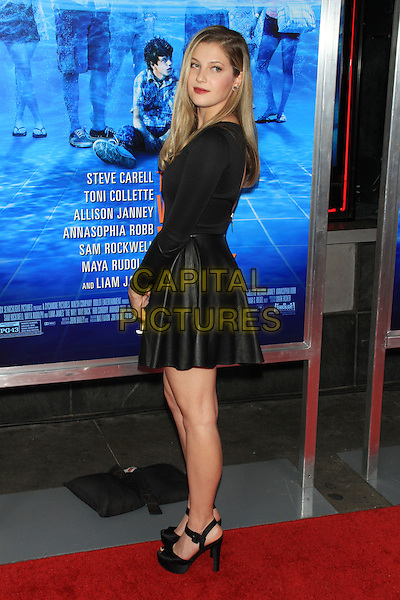 Zoe Levin<br /> New York Premiere of &quot;The Way, Way Back&quot; at the AMC Loews Lincoln Square Cinemas, New York, NY, USA.<br /> June 26th, 2013<br /> full length black top leather skirt side <br /> CAP/LNC/TOM<br /> &copy;LNC/Capital Pictures