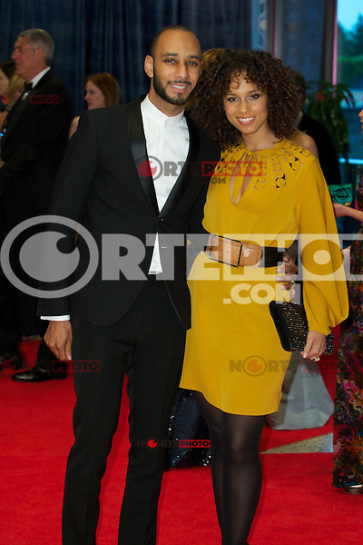 WASHINGTON, DC - APRIL 28: Swizz Beats and Alicia Keys attends the 2012 White House Correspondents Dinner at the Washington Hilton Hotel in Washington, D.C  on April 28, 2012  ( Photo by Chaz Niell/Media Punch Inc.)