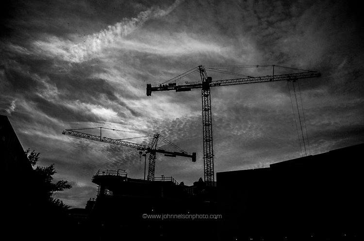 Construction Cranes, Washington, DC