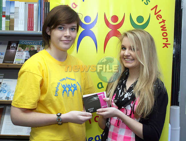 Naomi Farrell with second prize winner Theresa McKenna at the Drogheda Young Persons Network Presentation...Photo NEWSFILE/Jenny Matthews.(Photo credit should read Jenny Matthews/NEWSFILE)....This Picture has been sent you under the condtions enclosed by:.Newsfile Ltd..The Studio,.Millmount Abbey,.Drogheda,.Co Meath..Ireland..Tel: +353(0)41-9871240.Fax: +353(0)41-9871260.GSM: +353(0)86-2500958.email: pictures@newsfile.ie.www.newsfile.ie.FTP: 193.120.102.198.