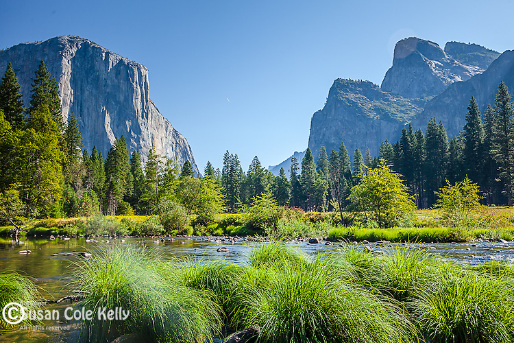 Yosemite Valley from Valley View, Yosemite National Park, CA, USA