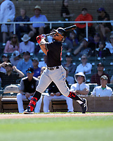 Francisco Lindor - Cleveland Indians 2020 spring training (Bill Mitchell)
