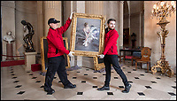 BNPS.co.uk (01202 558833)<br /> Pic: PhilYeomans/BNPS<br /> <br /> The 'Most beautiful woman in the world' finally return's to Blenheim Palace.<br /> <br /> The treasured painting kept by a Duchess of Blenheim once described as 'the most beautiful woman in the world' through her declining years has finally returned to the Oxfordshire Palace 103 years after it was painted.<br /> <br /> American Gladys Deacon married the 9th Duke of Marlborough in 1921, five years after her portrait was painted in Paris by Italian artist Giovanni Boldini.<br /> <br /> But the marriage became troubled and the Duke finally evicted Gladys from the Palace in the ealy 1930's, she then became an eccentric recluse, before finally ending her days in a psychiatric hospital.<br /> <br /> When evicted Gladys took a few treasured possessions with her, including a statue given her by Rodin, and this glamorous portrait from her stunning younger days.