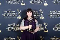 PASADENA - May 5: Lisa Armstrong in the press room at the 46th Daytime Emmy Awards Gala at the Pasadena Civic Center on May 5, 2019 in Pasadena, California