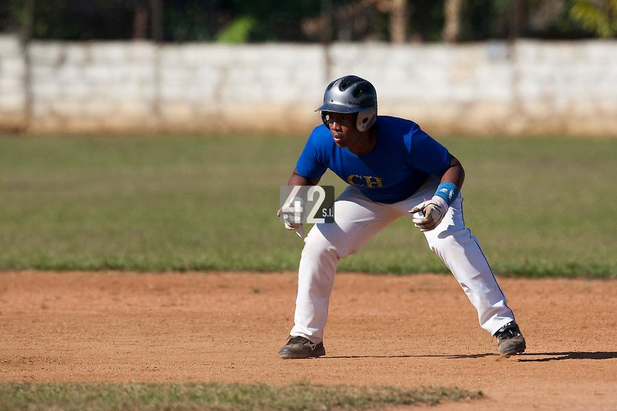 BASEBALL - POLES BASEBALL FRANCE - TRAINING CAMP CUBA - HAVANA (CUBA) - 13 TO 23/02/2009 - CUBAN PLAYERS