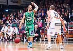 S&ouml;dert&auml;lje 2014-04-15 Basket SM-Semifinal 5 S&ouml;dert&auml;lje Kings - Uppsala Basket :  <br /> S&ouml;dert&auml;lje Kings John Roberson i aktion <br /> (Foto: Kenta J&ouml;nsson) Nyckelord:  S&ouml;dert&auml;lje Kings SBBK Uppsala Basket SM Semifinal Semi T&auml;ljehallen portr&auml;tt portrait