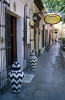 The main shopping street in the town of San Jose del Cabo, Baja California Sur, Mexico