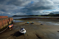 Ballantrae Harbour and Bennane Head from Ballantrae, Ayrshire<br /> <br /> Copyright www.scottishhorizons.co.uk/Keith Fergus 2011 All Rights Reserved
