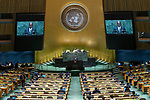 General Assembly Seventy-fourth session, 7th plenary meeting<br /> <br /> Gabon