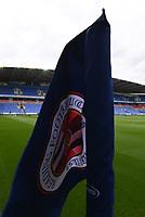 7th July 2020; Madejski Stadium, Reading, Berkshire, England; English Championship Football, Reading versus Huddersfield; The corner flag at Madejski Stadium before kick off