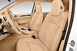 Front seat view of a 2017 Porsche Cayenne Diesel 5 Door SUV Front Seat car photos