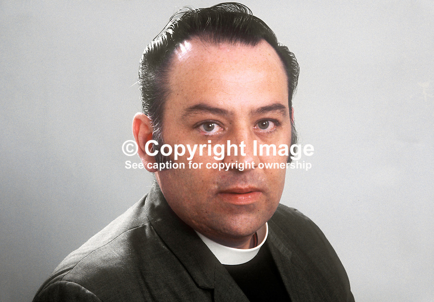 Rev John Stewart, NILP, N Ireland Labour Party, candidate, West Belfast, 1973 Assembly Election, 197303000277a<br />