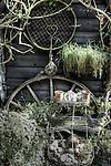 Garden Ornaments in Thornham, Suffolk, England