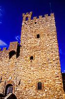 La Roca (The Fortress), Piazza di Communa, Castellina in Chianti, Tuscany, Italy