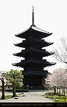 Gojunoto 5-story Pagoda, Japan's Tallest Pagoda, Toji East Temple, Kyoto, Japan