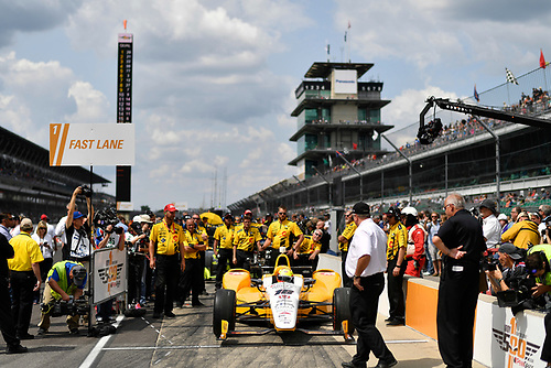 21-22 May, 2016, Indianapolis, Indiana, USA<br /> Spencer Pigot<br /> ©2016, Scott R LePage <br /> LAT Photo USA