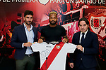 Tiago Manuel Dias 'Bebe' during his Official presentation as new player of Rayo Vallecano at Ciudad Deportiva Rayo Vallecano in Madrid, Spain. September 11, 2018. (ALTERPHOTOS/A. Perez Meca)