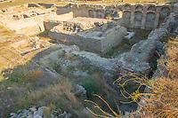 Ruins at Stobi, 2000 year old town in Southern Macedonia