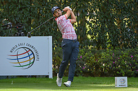 Abraham Ancer (MEX) watches his tee shot on 12 during round 2 of the World Golf Championships, Mexico, Club De Golf Chapultepec, Mexico City, Mexico. 2/22/2019.<br /> Picture: Golffile | Ken Murray<br /> <br /> <br /> All photo usage must carry mandatory copyright credit (&copy; Golffile | Ken Murray)