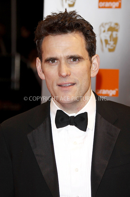 WWW.ACEPIXS.COM . . . . .  ..... . . . . US SALES ONLY . . . . .....February 21 2010, London....Matt Dillon at the Orange British Academy Film Awards (BAFTA's) on February 21 2010 in London......Please byline: FAMOUS-ACE PICTURES... . . . .  ....Ace Pictures, Inc:  ..tel: (212) 243 8787 or (646) 769 0430..e-mail: info@acepixs.com..web: http://www.acepixs.com
