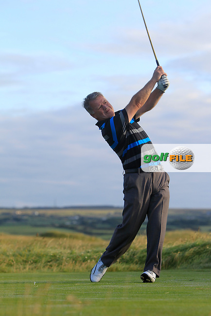 during Matchplay Round 1 of the South of Ireland Amateur Open Championship at LaHinch Golf Club on Friday 24th July 2015.<br /> Picture:  Golffile | Thos Caffrey