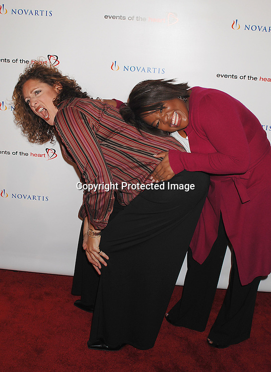 """Judy Gold and Sherri Shepherd..arriving at """"Events of the Heart"""" Gala on October 1, 2007 ..at Jazz at Lincoln Center.....Photo by Robin Platzer, Twin Images....212-935-0770"""