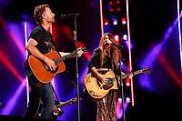 08 June 2019 - Nashville, Tennessee - Dierks Bentley, Tenille Townes. 2019 CMA Music Fest Nightly Concert held at Nissan Stadium. Photo Credit: Frederick Breedon/AdMedia