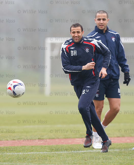 Brahim Hemdani and Madjid Bougherra