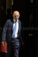 Sajid Javid MP (Secretary of State for Communities and Local Government).<br />