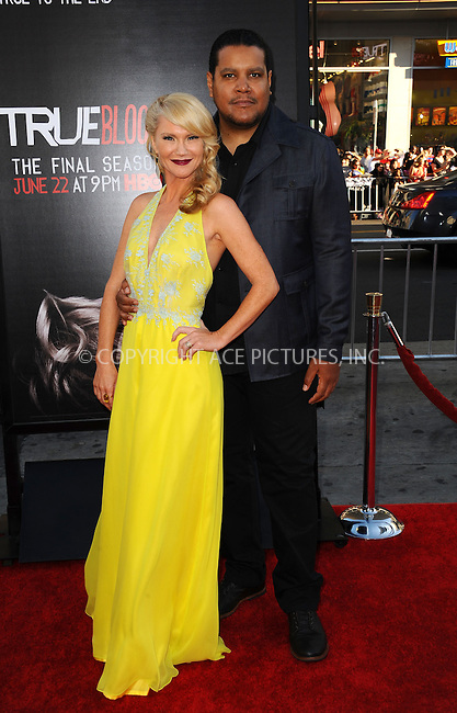 ACEPIXS.COM<br /> <br /> June 17 2014, LA<br /> <br /> Tara Buck arriving at HBO's 'True Blood' final season premiere at the TCL Chinese Theatre on June 17, 2014 in Hollywood, California. <br /> <br /> <br /> <br /> By Line: Peter West/ACE Pictures<br /> <br /> ACE Pictures, Inc.<br /> www.acepixs.com<br /> Email: info@acepixs.com<br /> Tel: 646 769 0430