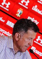 SÃO PAULO,SP, 07.08.2015 - FUTEBOL-SAO PAULO - Juan Carlos Ozorio durante coletiva de imprensa do São Paulo no Centro de Treinamento na Barra Funda zona oeste, nesta sexta-feira, 7. (Foto: Douglas Pingituro/Brazil Photo Press)