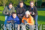 CAMERMEN: Camera men who volunteered their service to the Culture Night on Friday evening, in Tralee, L-r: Ger Roche, Paul Meane, Dermott Petty, Brian O'Connor and Niall Keher.