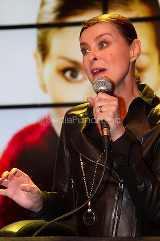 Lisa Stansfield signing her new album &quot;Seven&quot; at Saturn, Moenckebergstrasse, Hamburg, Germany, 31.01.2014. <br /> Photo by Christopher Tamcke/insight media /MediaPunch ***FOR USA ONLY***