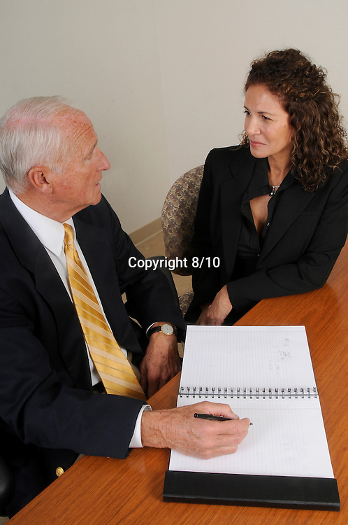 Senior Management in coversation
