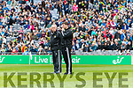 Kerry Manager Eamonn Fitzmaurice. Kerry v Dublin at the National League Final in Croke Park on Sunday.