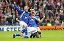 12/04/2008    Copyright Pic: James Stewart.File Name : sct_jspa16_qots_v_aberdeen.SEAN O'CONNOR (CENTRE) IS GONGRATULATED BY JOHN STEWART AND PAUL BURNS AFTER HE SCORES THE THIRD FOR QUEEN OF THE SOUTH.James Stewart Photo Agency 19 Carronlea Drive, Falkirk. FK2 8DN      Vat Reg No. 607 6932 25.Studio      : +44 (0)1324 611191 .Mobile      : +44 (0)7721 416997.E-mail  :  jim@jspa.co.uk.If you require further information then contact Jim Stewart on any of the numbers above........