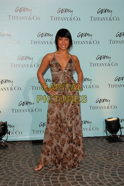 CHERYL BURKE.Attends Tiffany & Co. celebration for the launch of Frank Gehry?s premier collection held at Tiffany & Co. on Rodeo in Beverly Hills, California, USA, March 26, 2006..full length.Ref:DVS.www.capitalpictures.com.sales@capitalpictures.com.Supplied By Capital PIctures