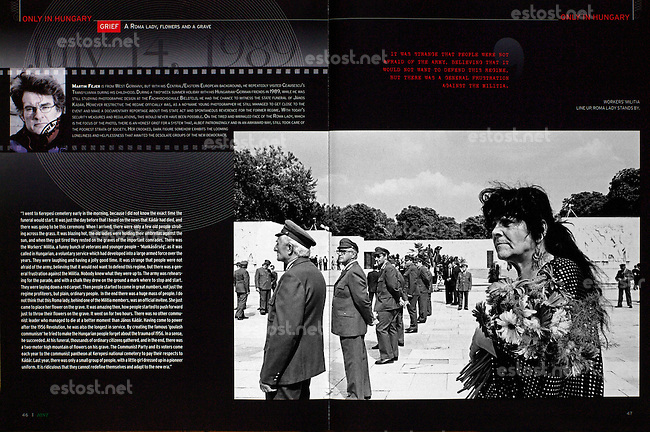 Hungary: Invest, Network and Trade Magazine, Winter 2009, Photographer: Martin Fejer