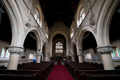 As part of my shoot of the Wiverton group of chruch's this is St John The Divine church Colston Bassett Nottinghamshire.