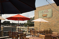 DURHAM, N.C. Tuesday August 5, 2014 - An exterior of the rooftop dining area at The Pit Authentic Barbecue in Durham, N.C. (Justin Cook for The New York Times)