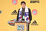 13 January 2011: FC Dallas selected Bobby Warshaw with the #17 overall pick. The 2011 MLS SuperDraft was held in the Ballroom at Baltimore Convention Center in Baltimore, MD during the NSCAA Annual Convention.