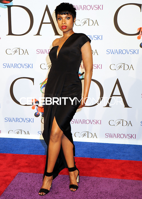 NEW YORK CITY, NY, USA - JUNE 02: Jennifer Hudson arrives at the 2014 CFDA Fashion Awards held at Alice Tully Hall, Lincoln Center on June 2, 2014 in New York City, New York, United States. (Photo by Celebrity Monitor)