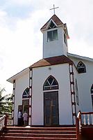 Ebeneezer Baptist Church on Big Corn Island, Nicaragua