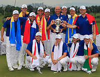 Team Europe winners of the Eurasia Cup at Glenmarie Golf and Country Club on the Sunday 14th January 2018.<br /> Picture:  Thos Caffrey / www.golffile.ie