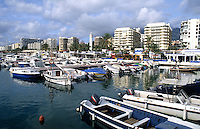 Southern Coast Costa del Sol marina. City of Marbella, Spain