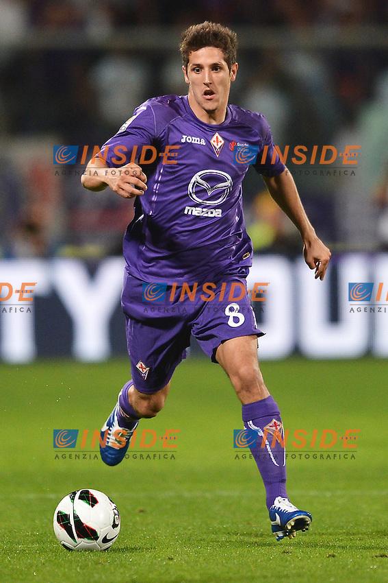 "Stevan Jovetic Fiorentina.Firenze 25/9/2012 Stadio ""Artemio Franchi"".Football Calcio Serie A 2012/2013.Fiorentina Vs Juventus.Foto Andrea Staccioli Insidefoto"
